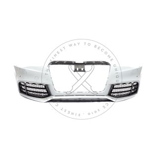 AUDI Ringe hinten H AUDI A5 S5 RS5 F5 B9 Coupé Cabrio Emblem schwarz glänzend