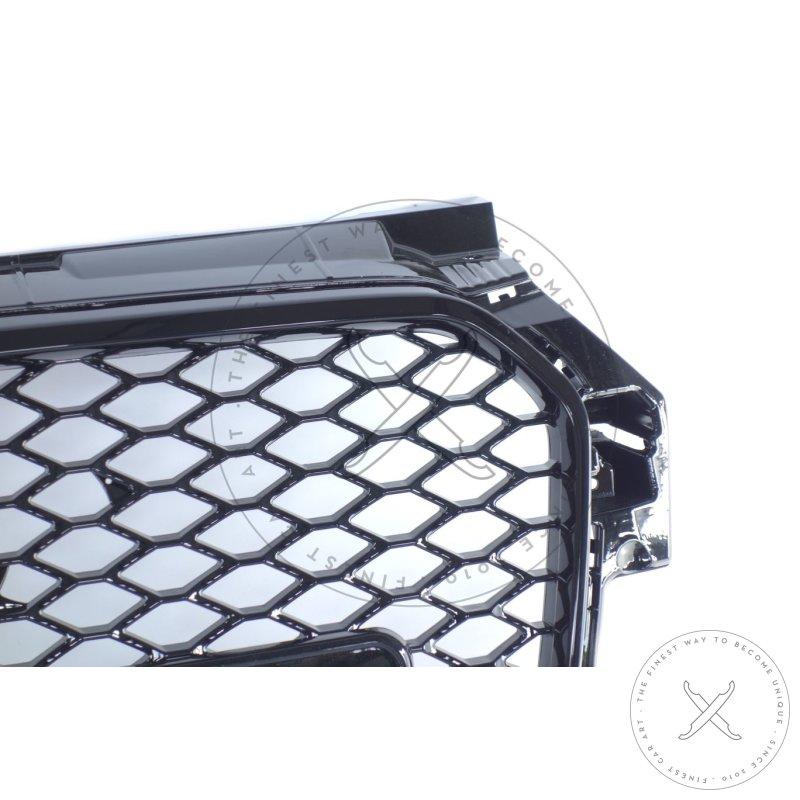 zubeh r wabengitter grill f r audi a1 8x vfl in. Black Bedroom Furniture Sets. Home Design Ideas