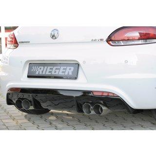 08.08 13 Rieger Seitenschweller matt schwarz f/ür VW Scirocco 3